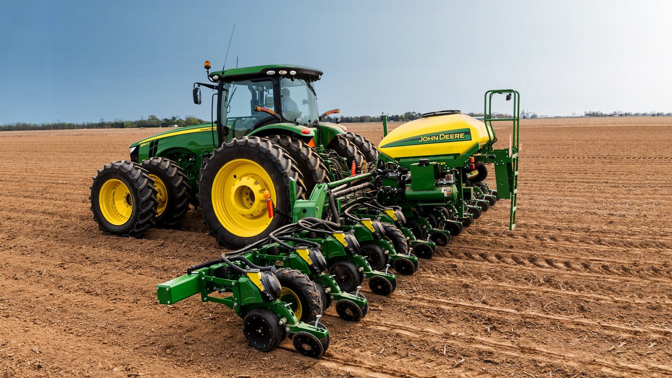 deere planter row corn precision with bhp like john finger ebay new meters planters