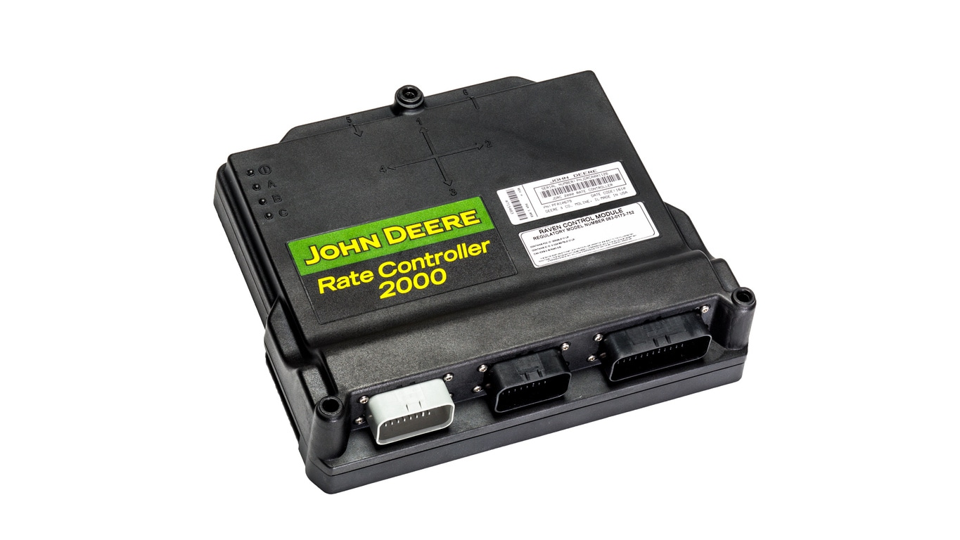 Variable Rate Application | Rate Controller 2000 | John Deere US on