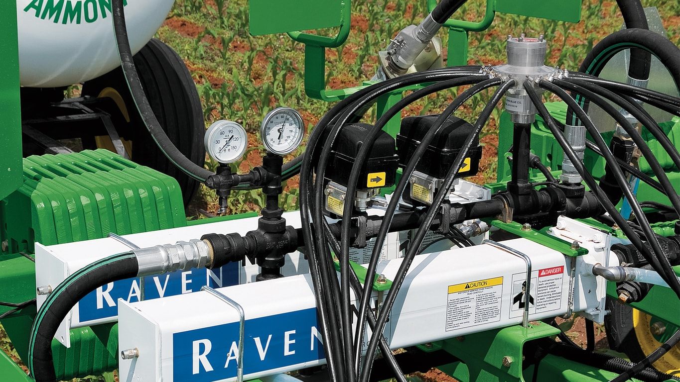 John Deere 2510 Wiring Harness Variable Rate Application Controller 2000 Us Section Control Raven Accuflow Vortex And Single Cooler