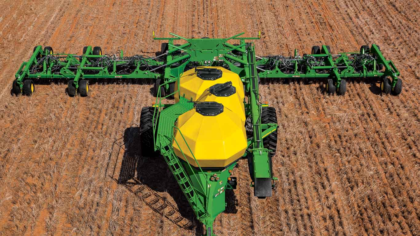 Seeders and Box Drills | Seeding Equipment | John Deere | Frontier | US