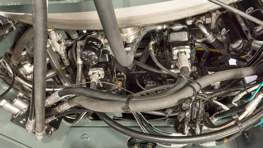 image of engine and transmission