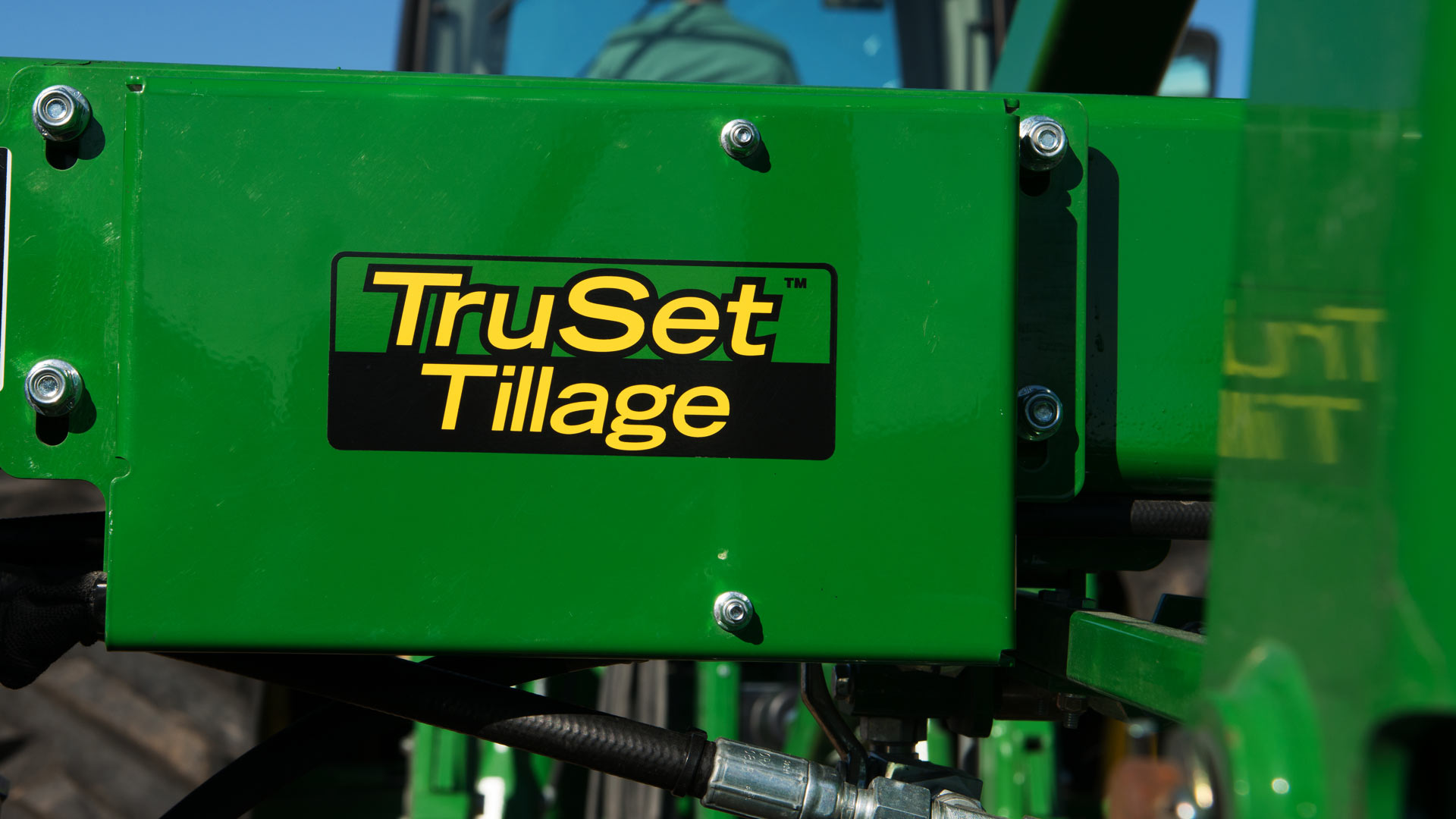 truset on the side of equipment