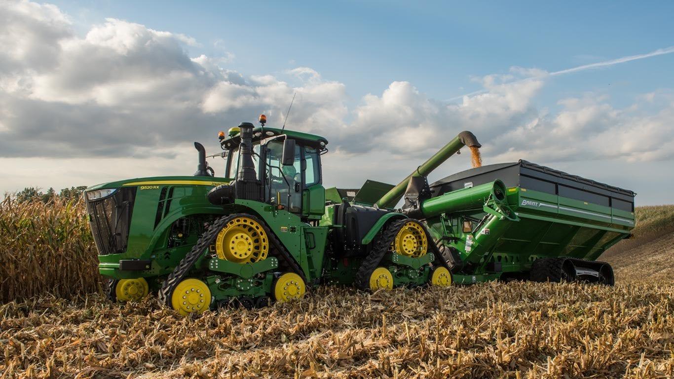 4wd Track Tractors 9520rx John Deere Us