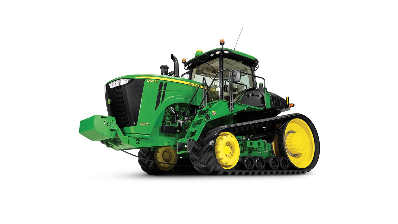 Studio image of 9570RT 4wd Tractor