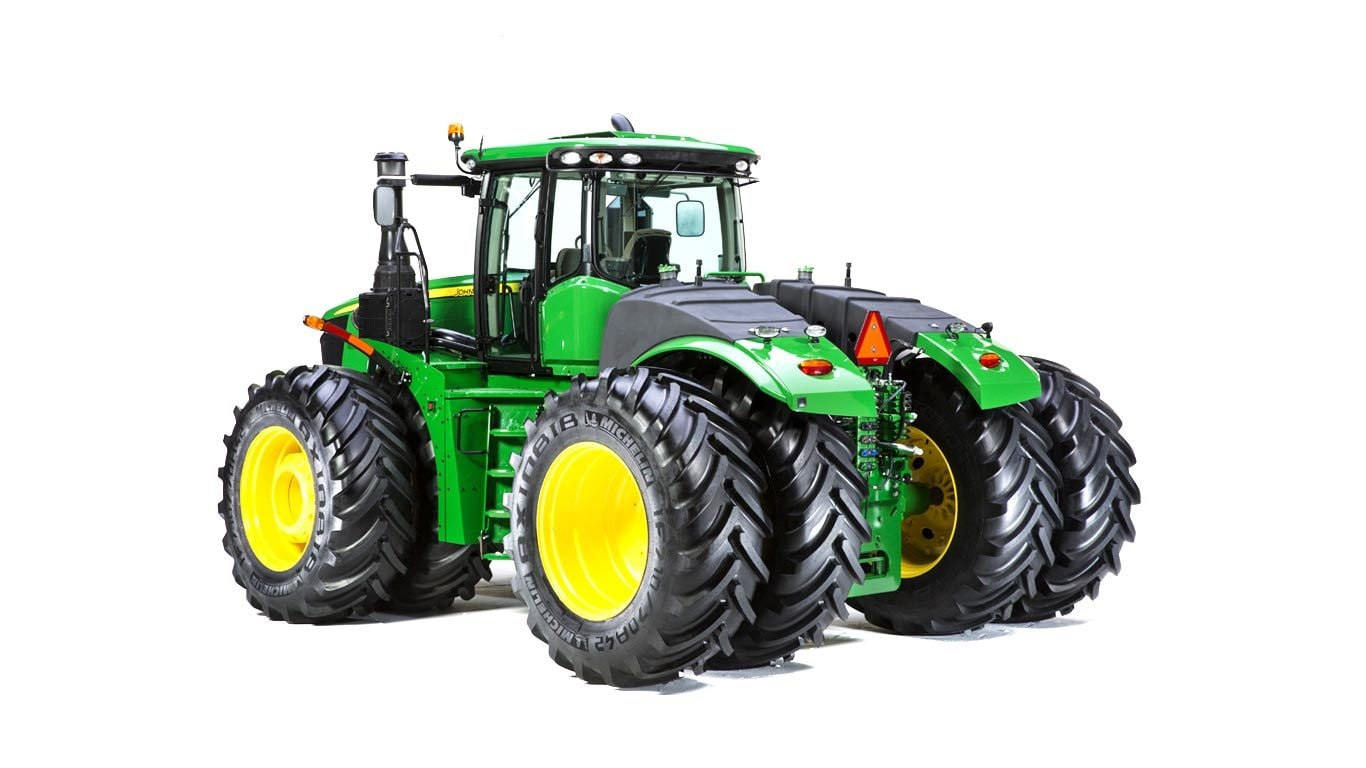 Studio image of 9520R 4WD Tractor