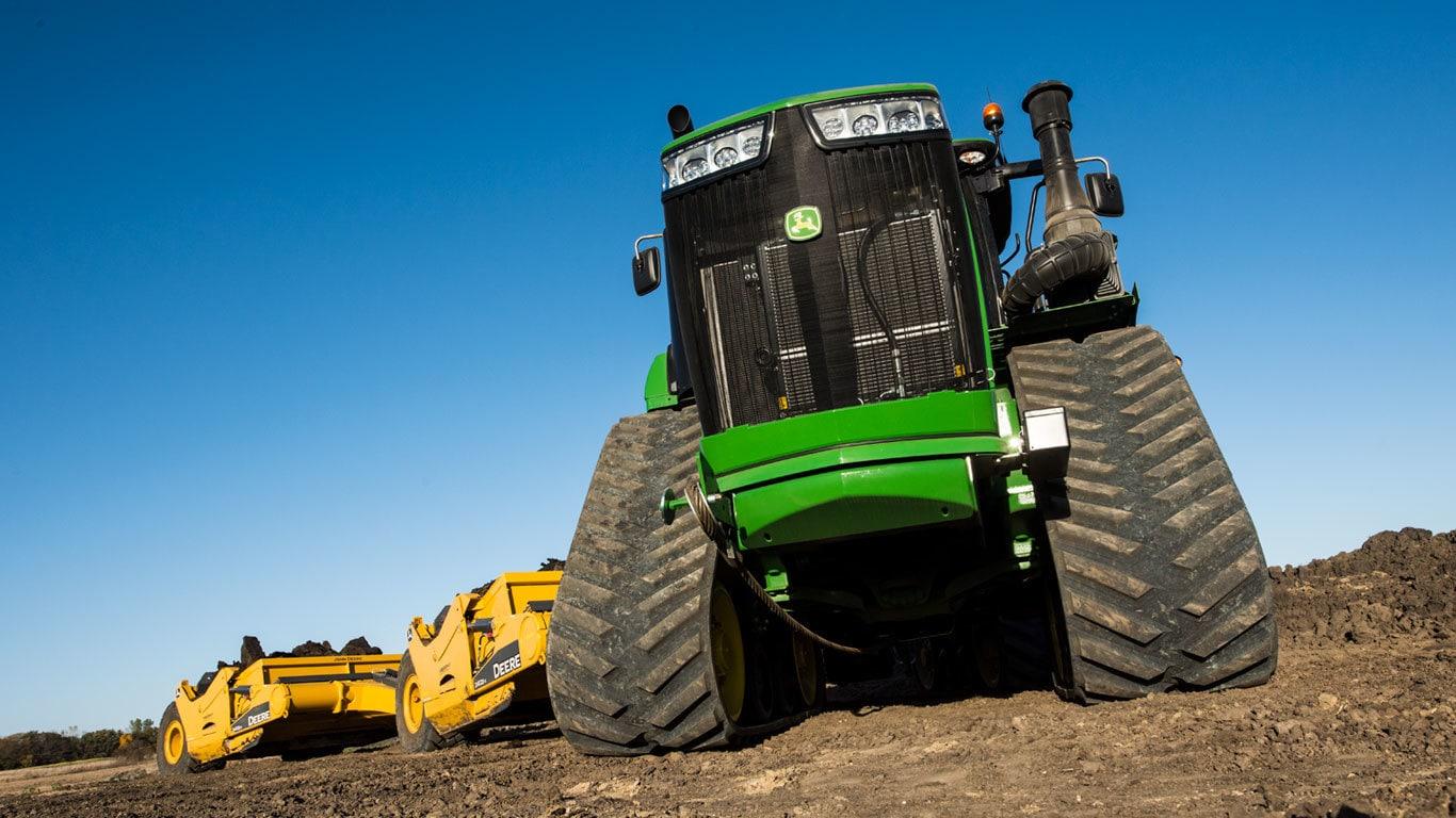 Scraper Special Tractors | 9520RX | John Deere US