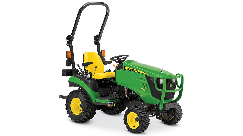 Studio photo of 1025R Sub-Compact Utility Tractor