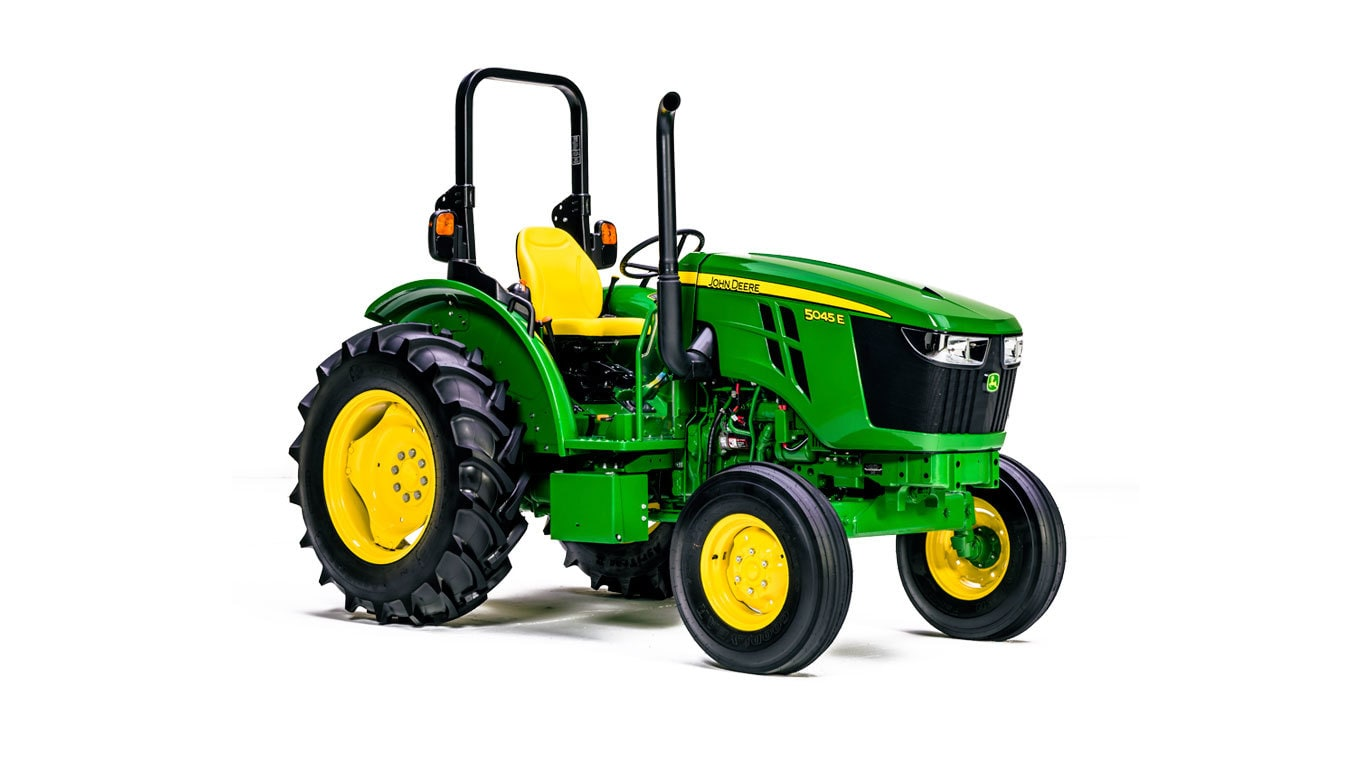 5E Series (45-75 hp) Utility Tractors | 5045E | John Deere US on john deere pto repair, john deere pto piston, john deere l120 hydrostatic transmission diagram, john deere rx75 parts diagram, john deere pto generator, john deere 4100 electrical diagram, john deere pto disassembly, snapper pto wiring diagram, john deere pto cover, ford pto wiring diagram, exmark pto wiring diagram, john deere tractor parts diagrams, scag pto wiring diagram, john deere pto drive shaft, john deere pto clutch, stx46 wiring diagram, dixon pto wiring diagram, john deere snow plow parts manuals, john deere pto parts, pto clutch wiring diagram,