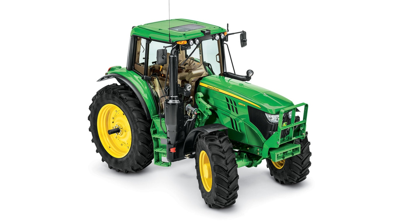Studio image of 6155M Row Crop Tractor