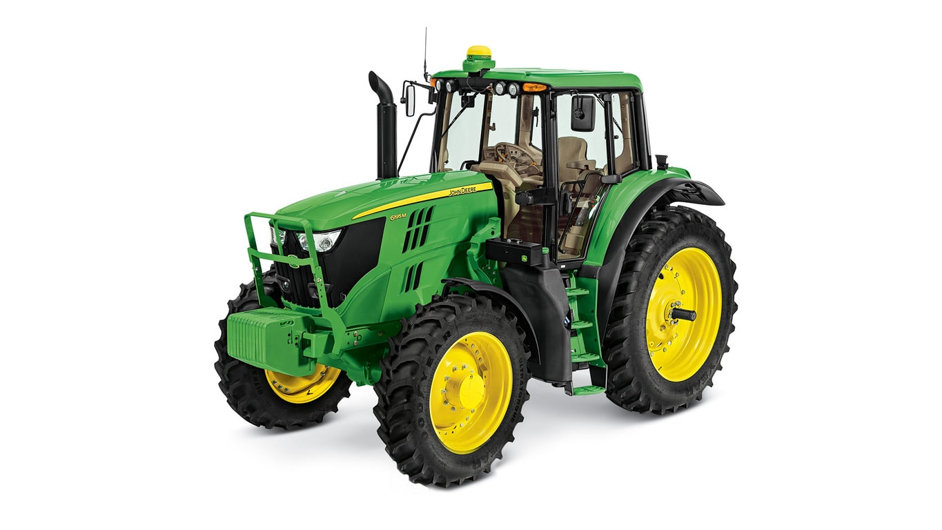 Studio image of 6195M Row Crop Tractors