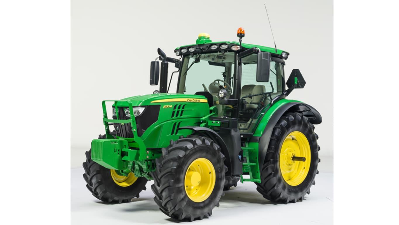 Studio image of 6130r Row Crop Tractor