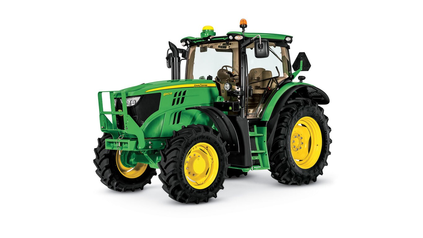 Studio image of 6140r Row Crop Tractor