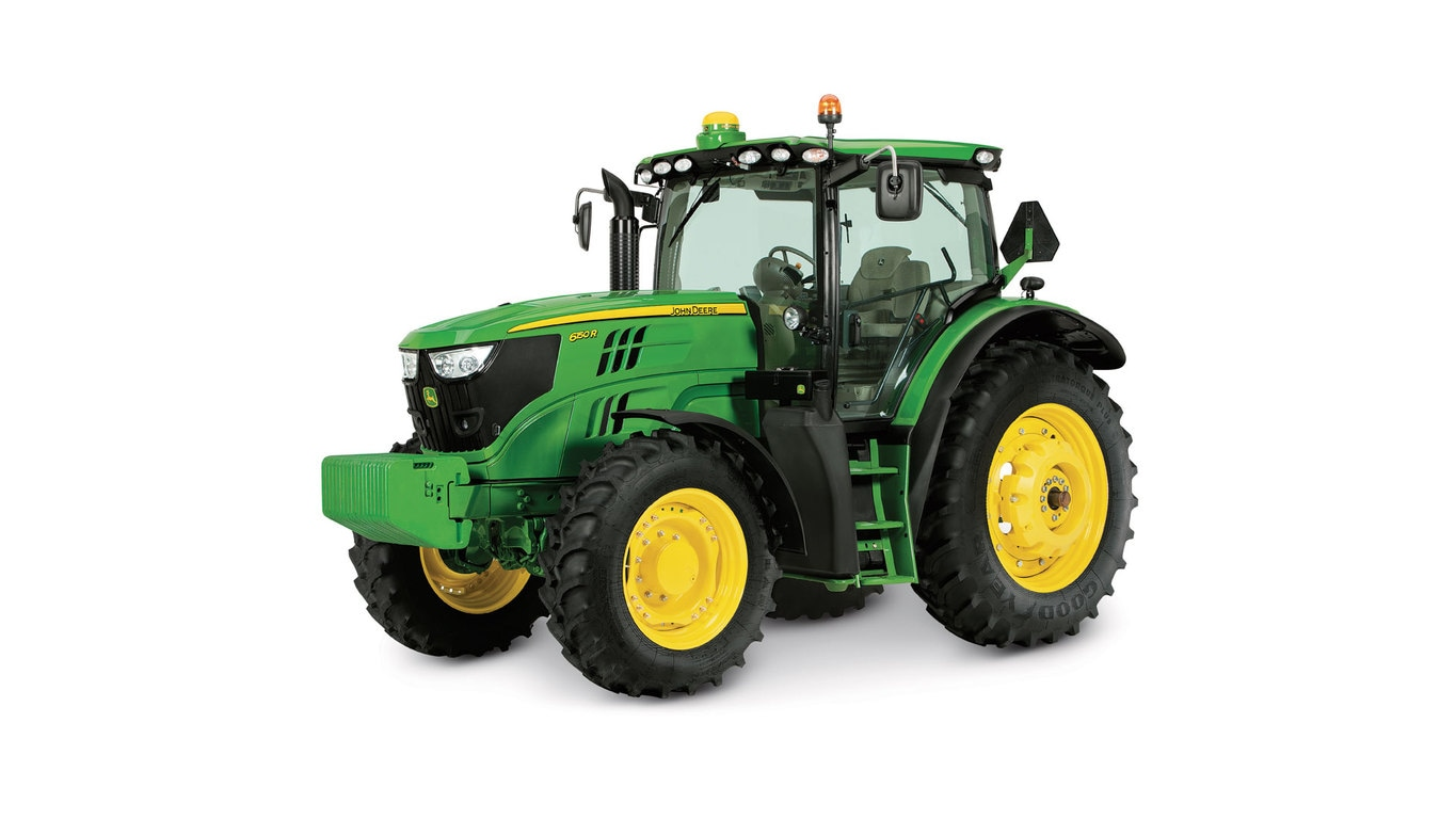 Studio image of 6145r Row Crop Tractor