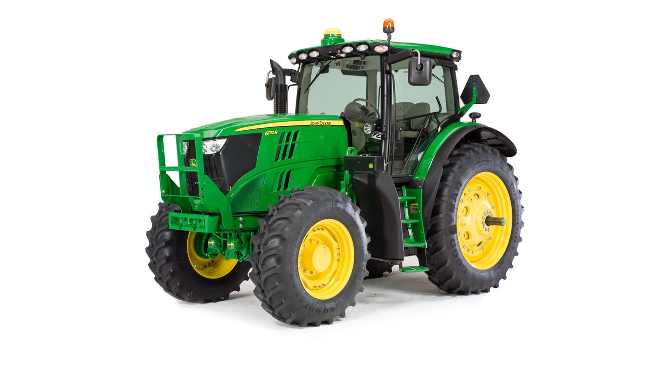 Studio image of 6170r Row Crop Tractor