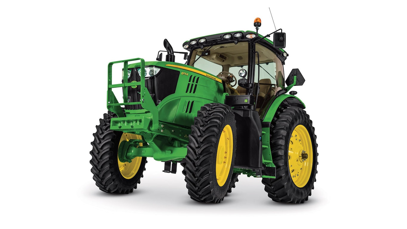 Studio image of 6175r Row Crop Tractor