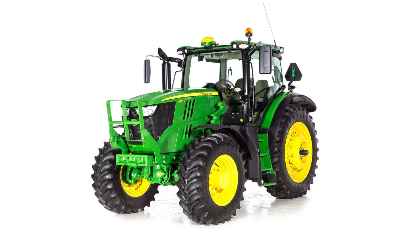 Studio image of 6195r Row Crop Tractor