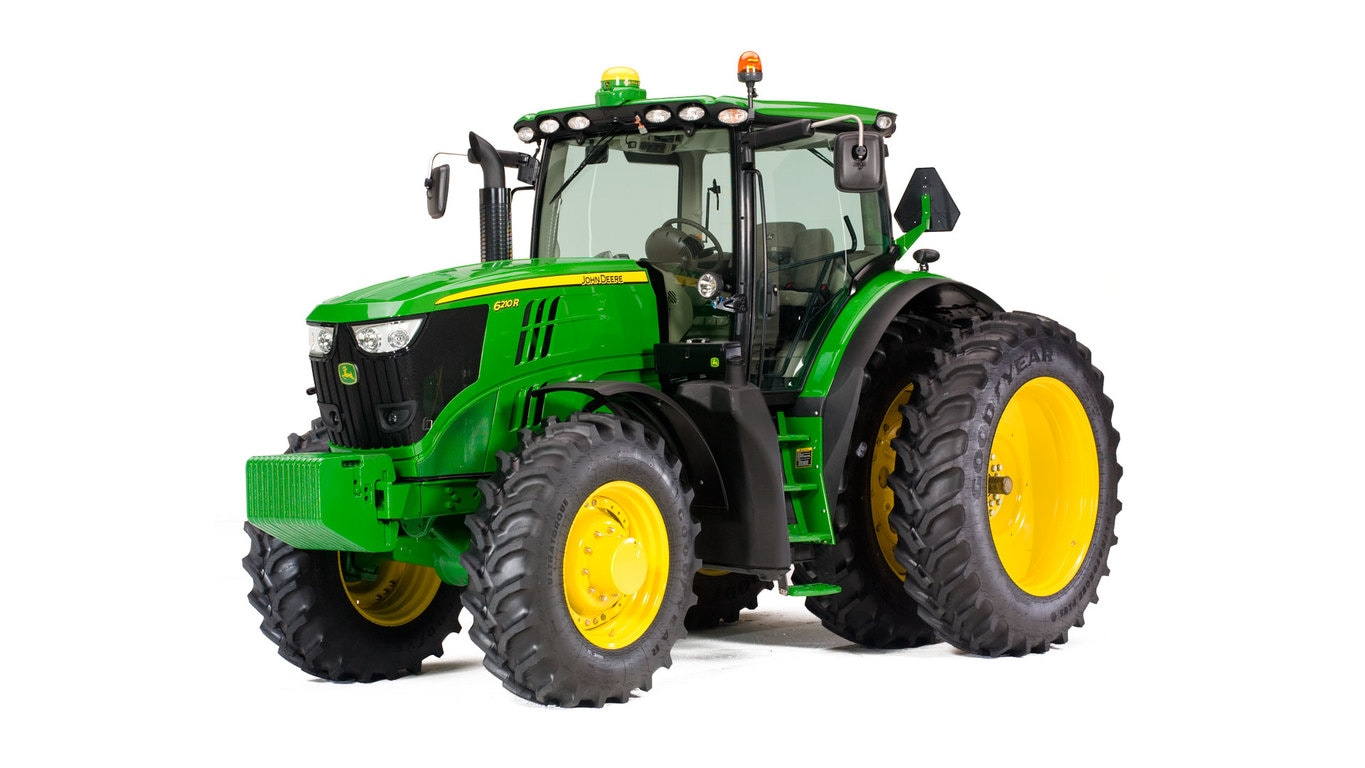 Studio image of 6210r Row Crop Tractor