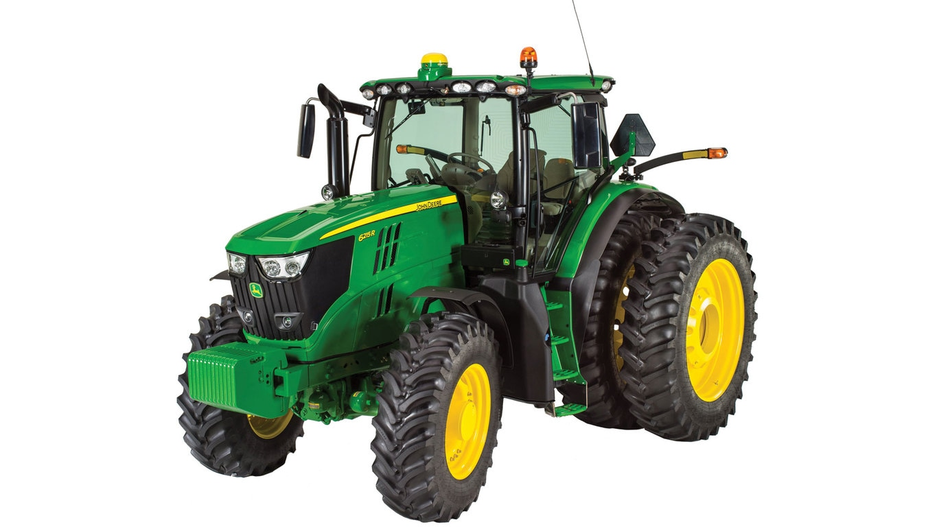 Studio image of 6215r Row Crop Tractor
