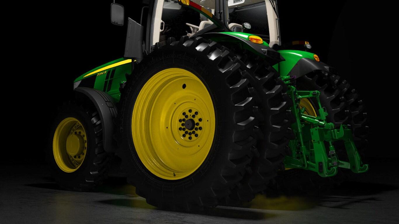 7r row crop tractor