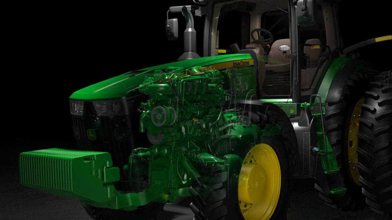 Row Crop Tractors 8370r John Deere Us Case 580 Tractor Starter Wiring Diagram Meet The 8r 8rt Series It Leaves No Room For Compromise Works Hard Performs Strong And Runs Lean