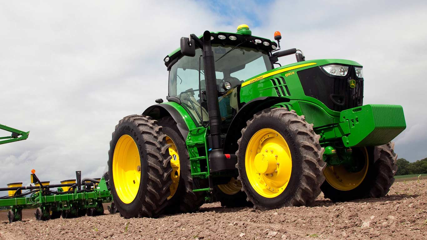 6 Series Row-Crop Tractors