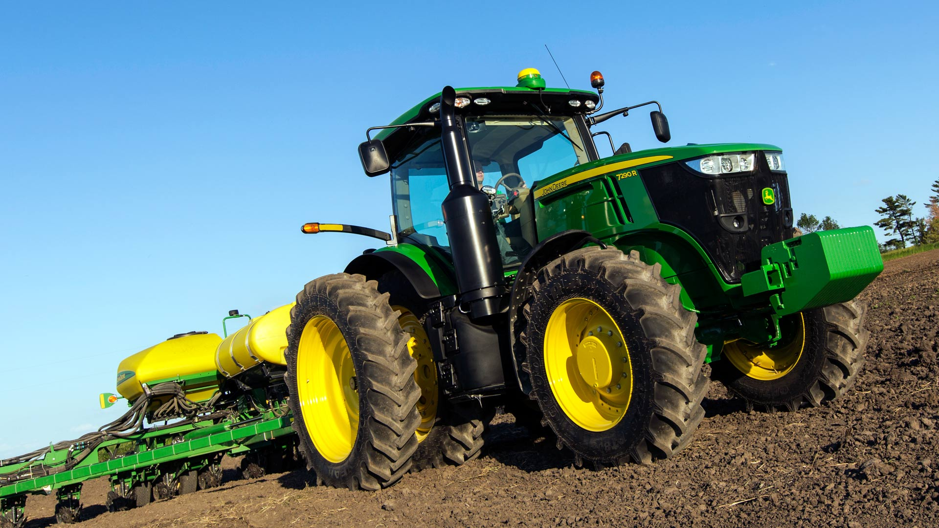 See the 7R Series  row crop tractor