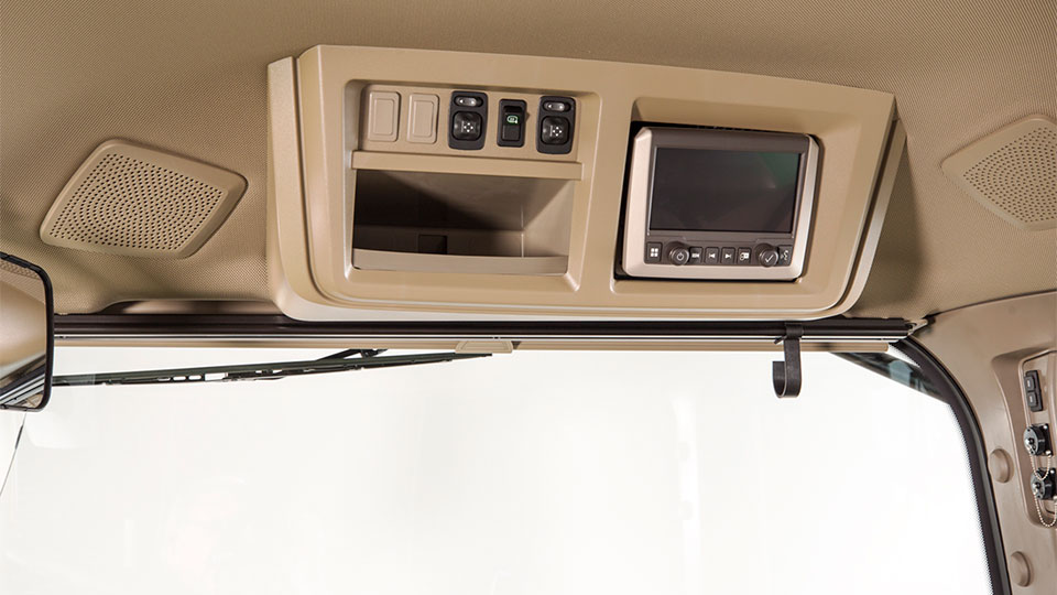 Right-hand window accessory rail