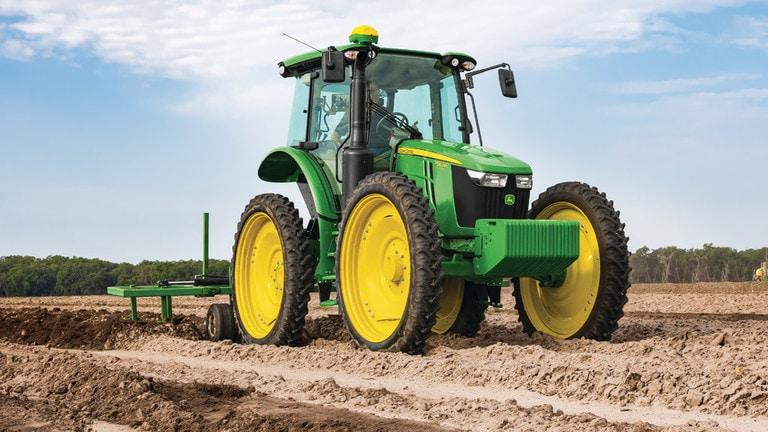 High-Crop Tractor