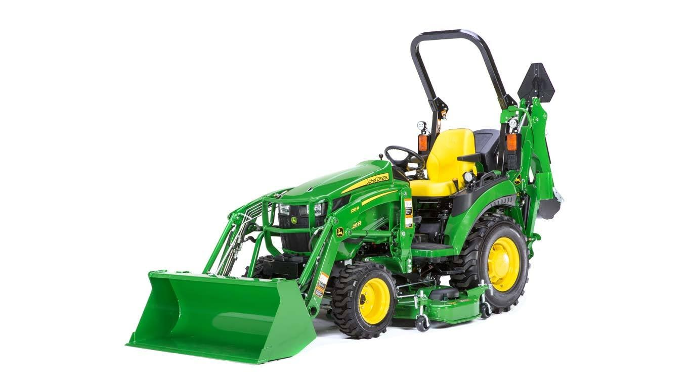 2 Family Compact Utility Tractors 2025r John Deere Us 270 Alternator Wiring Diagram Image Of Tractor In Studio