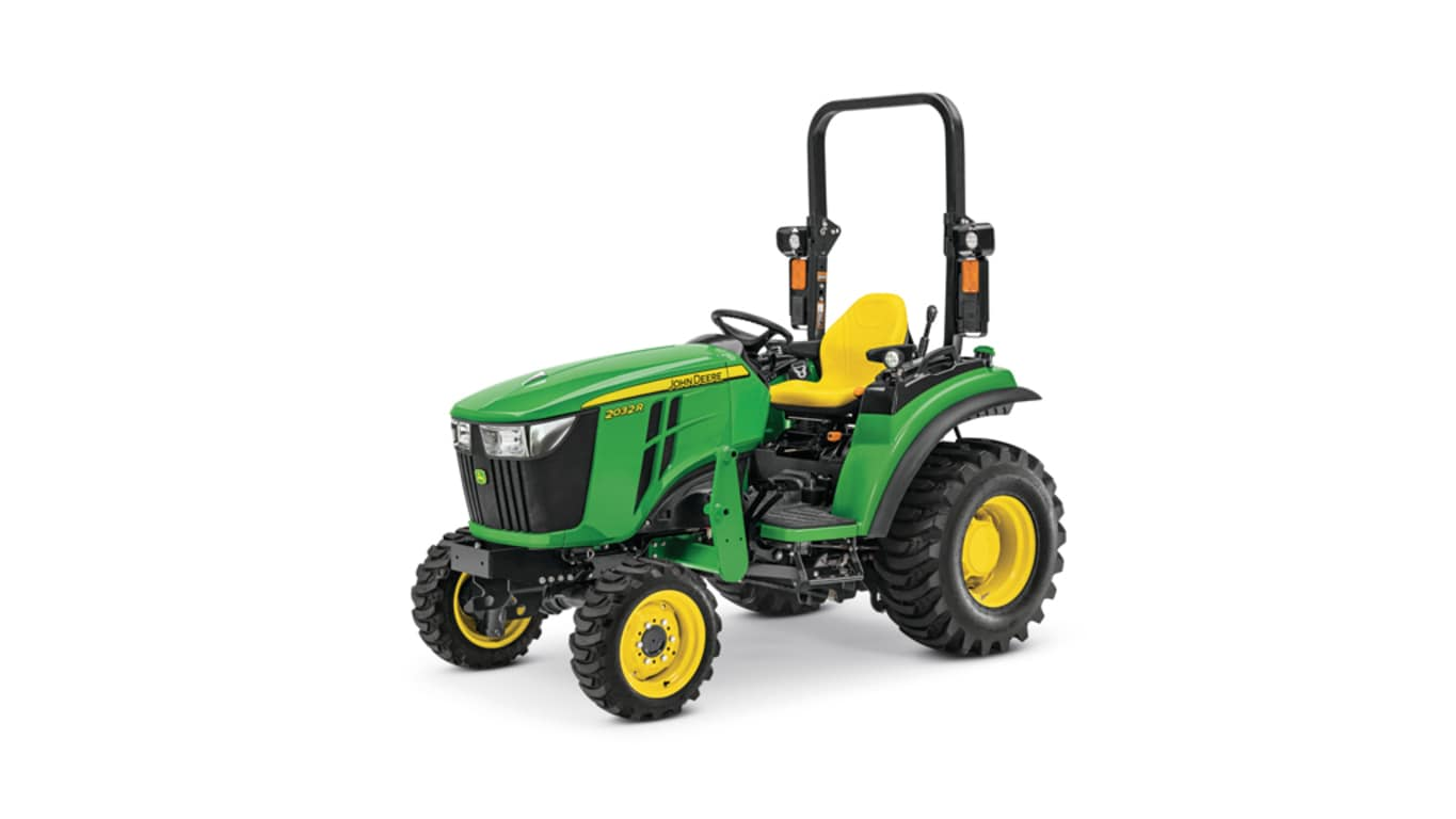 Studio image of 2032R Compact Utility Tractor base model