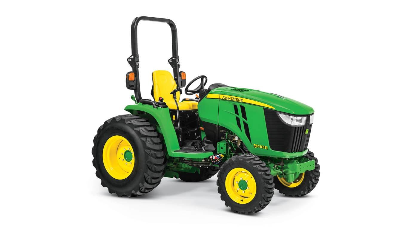 Studio photo of 3033R Compact Tractor