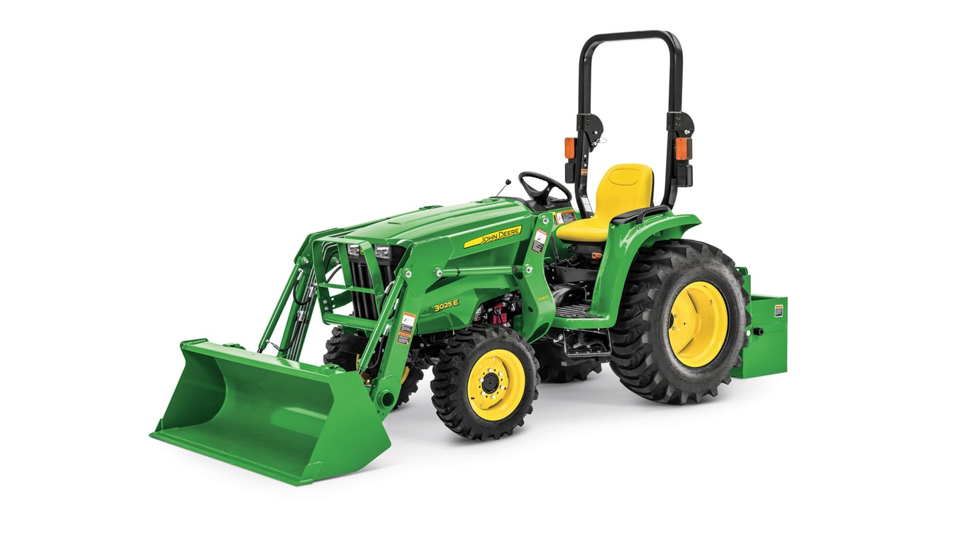 Small Utility Wagons For Tractors : Family compact utility tractor e john deere us