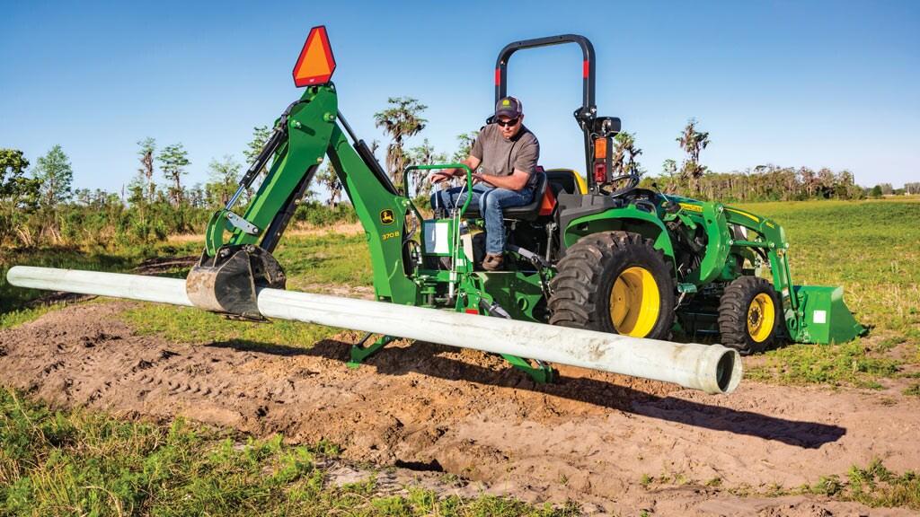 Compact Tractors | 25-45HP 3 Series Small Tractors | John
