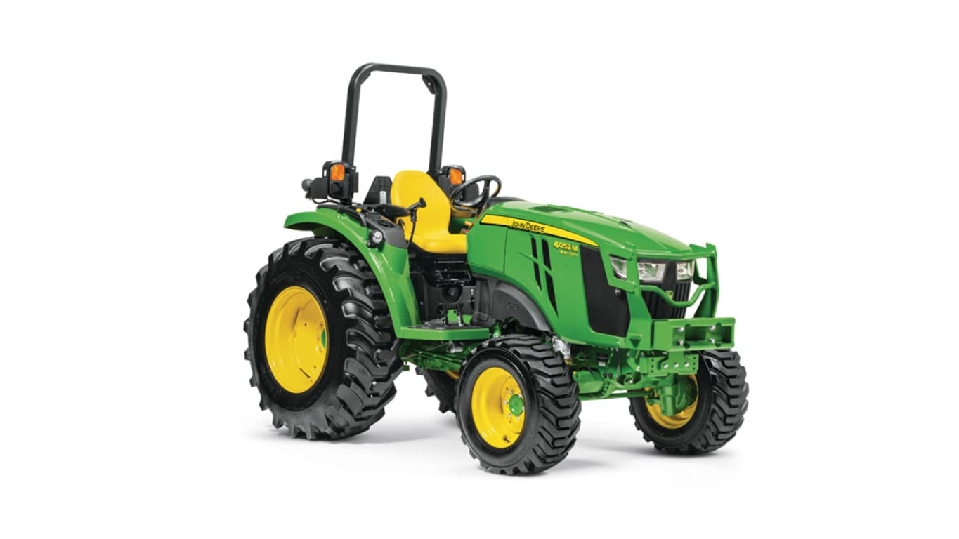 studio image of 4052m heavy duty compact utility tractor