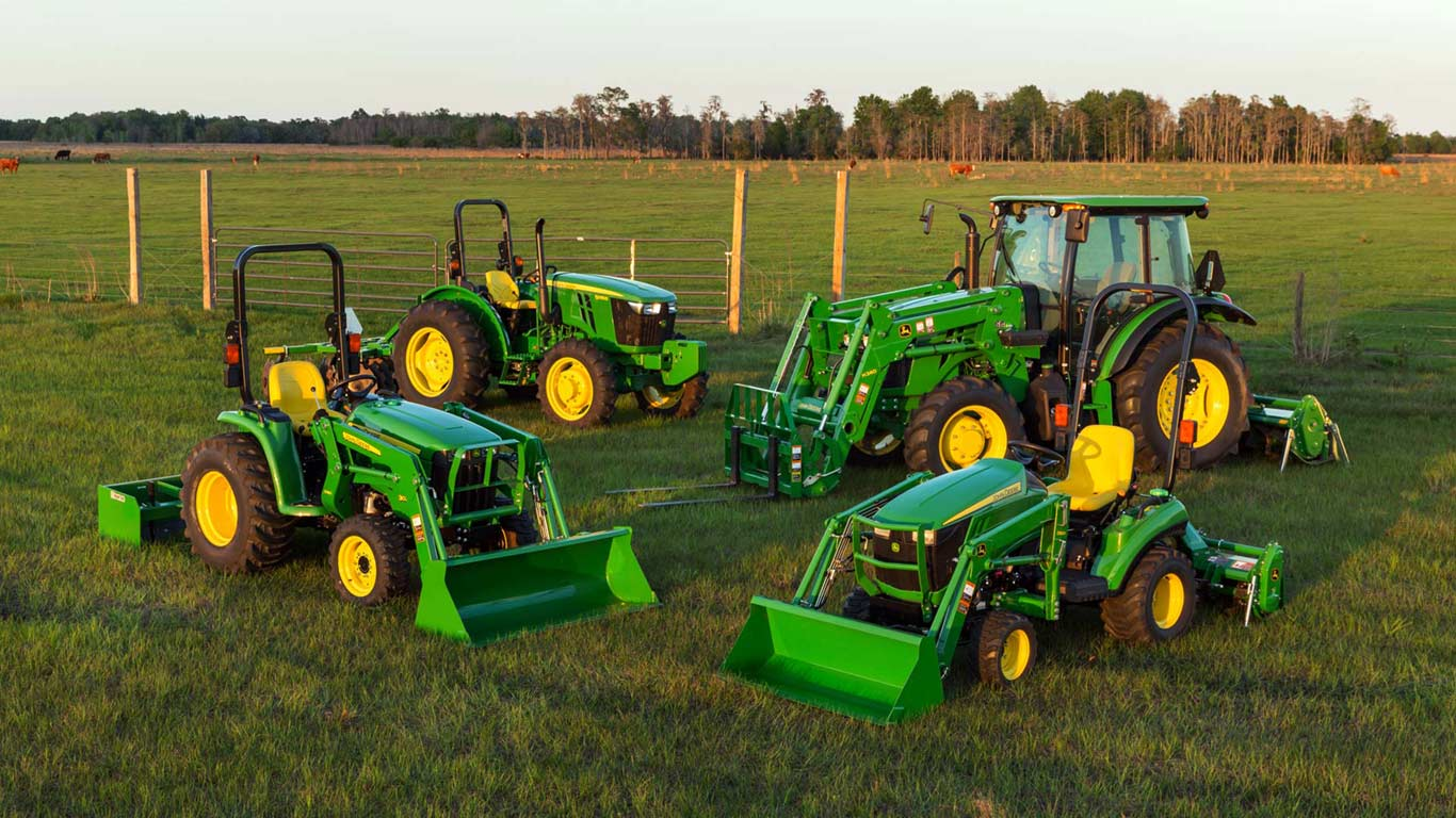 Image result for 5M and 5E series tractors
