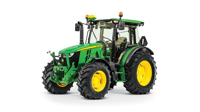studio image of 5115m utility tractor