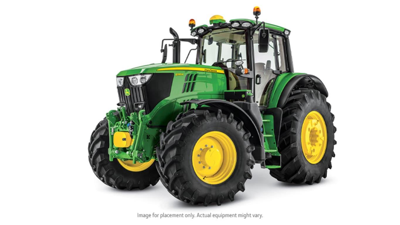 Studio image of 6195M Utility Tractor