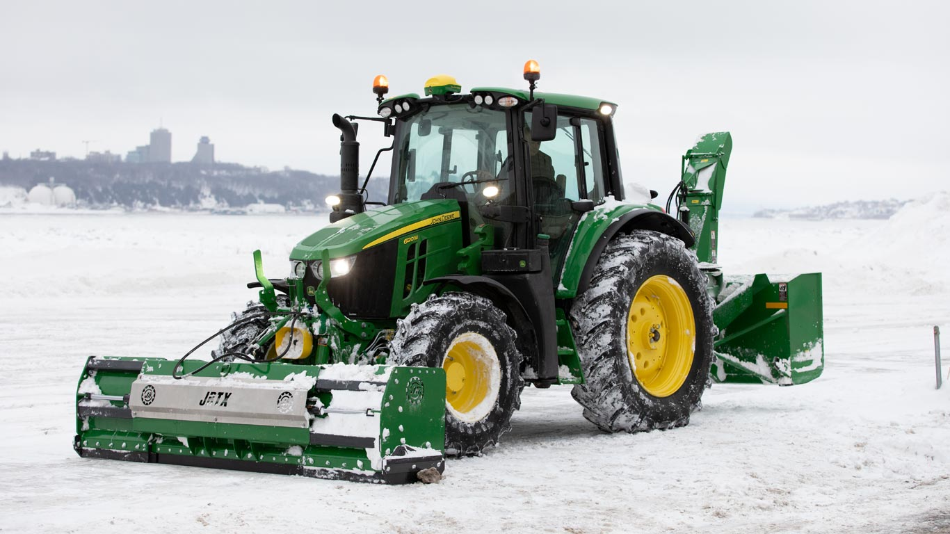 6m with snowblower