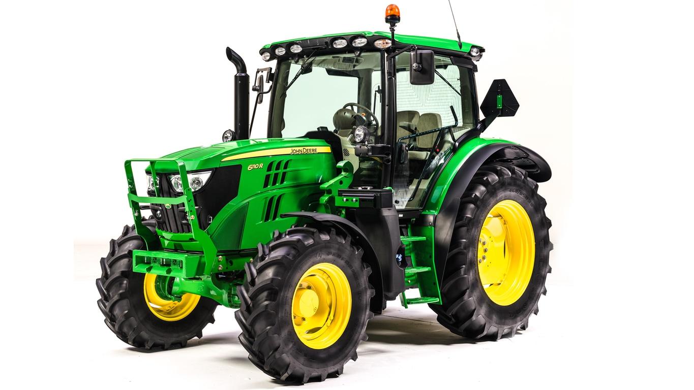 Studio image of 6110R Utility Tractor