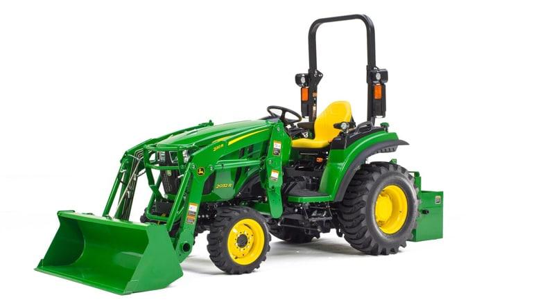 Compact Ag 4wd Tractors John Deere Us