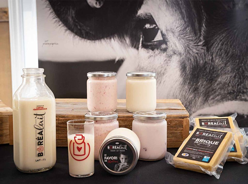 Photo of milk based products
