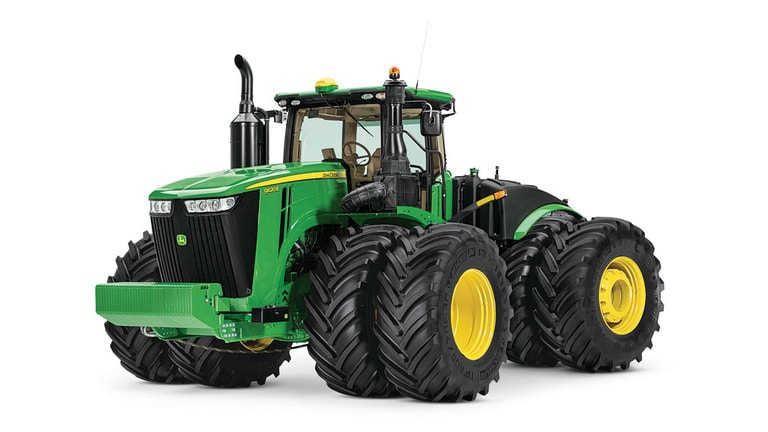 Studio image of 9620R 4wd Tractor