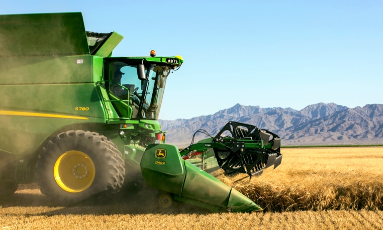 Introducing the new S700 Series Combines