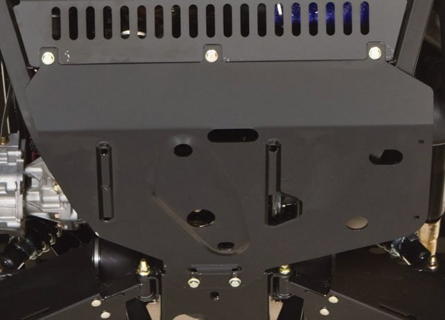 HD Skid Plate Extension Panel Protection