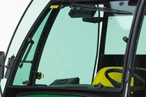 Glass Windshield w/ Wiper