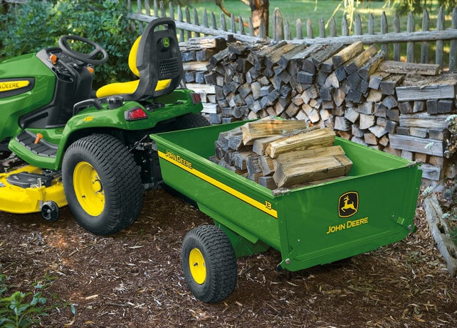 13 Steel Utility Cart Yard & Lawn Care Attachment