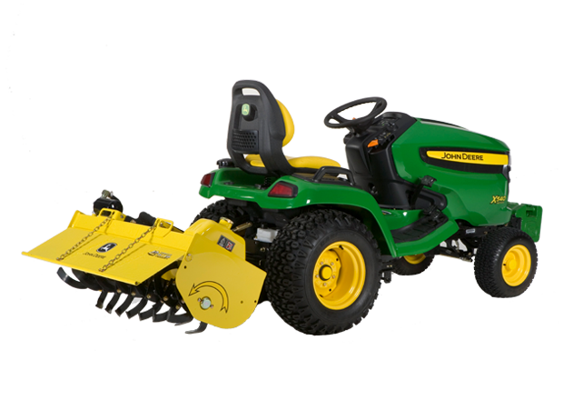 John Deere 42inch Hydraulic Tiller Gardening Ground Engagement