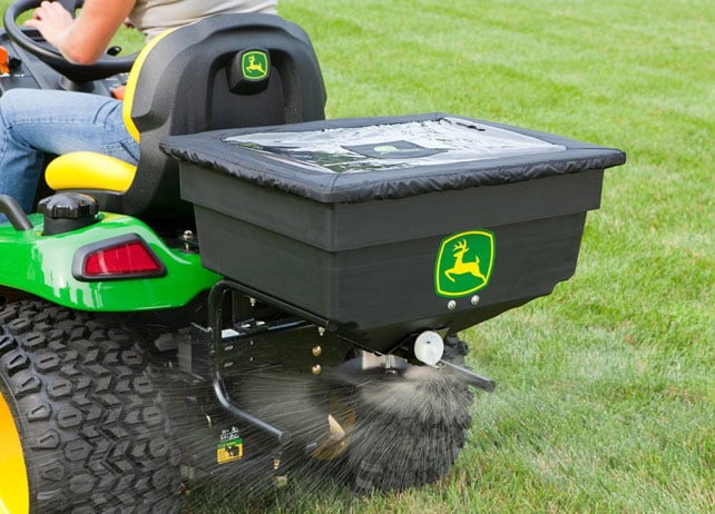 John Deere 125 Lb Electric Spreader Yard Amp Lawn Care