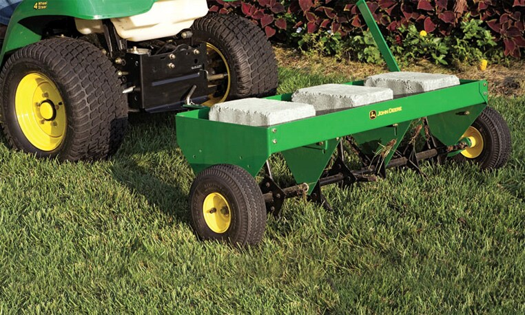 Image gallery john deere attachments for Lawn and garden implements