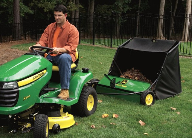 John Deere 42 Inch Lawn Sweeper Yard Amp Lawn Care Riding